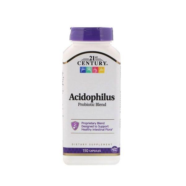 Acidophilus Probiotic Blend 150 Caps, 21st Century