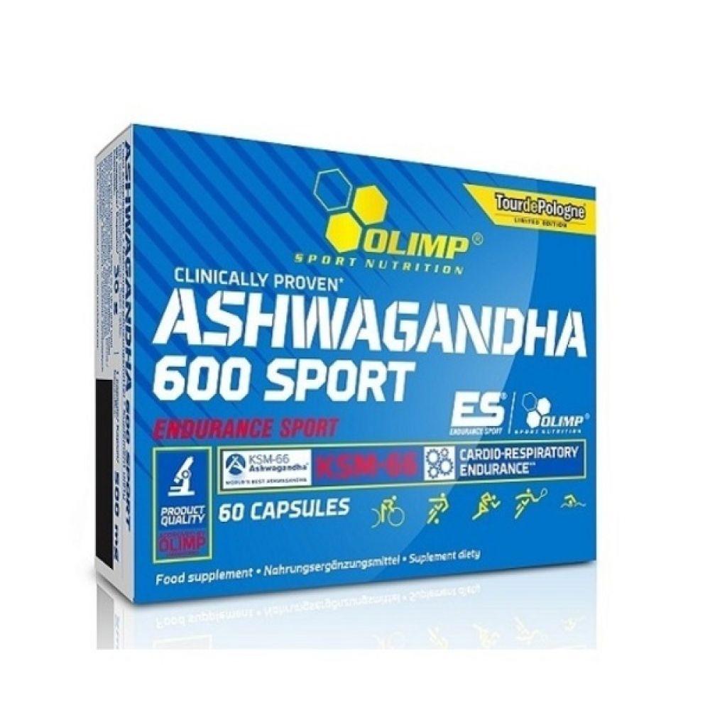 Ashwagandha 600 Sport 60 Caps, Olimp