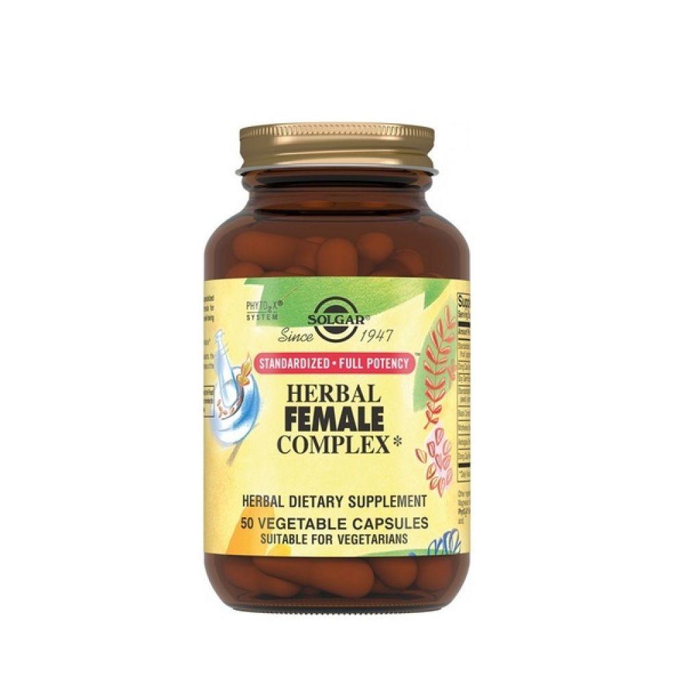 Herbal Female Complex 50 Veg Caps, Solgar
