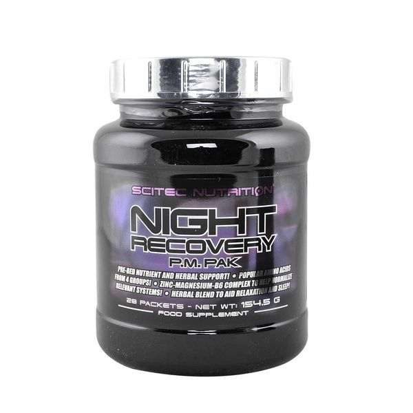 Night Recovery PM Pak 28 Packs, Scitec Nutrition