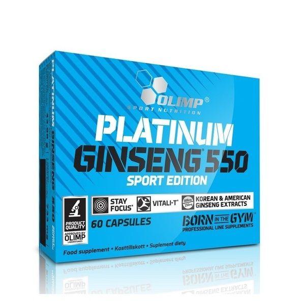 Platinum Ginseng 550 Sport Edition 60 Caps, Olimp