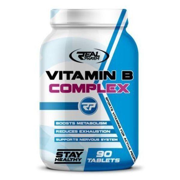 Vitamin B COMPLEX 90tab, Real Pharm