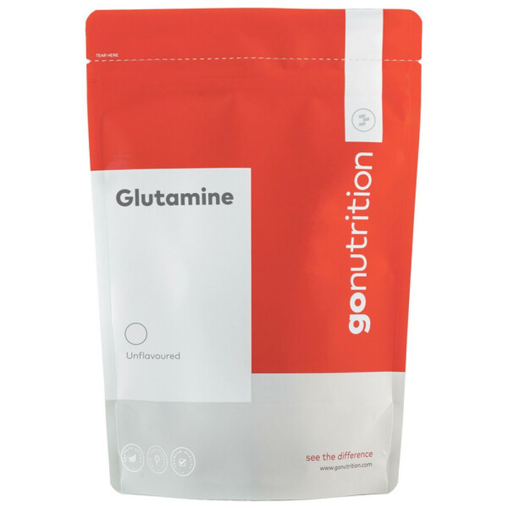 Glutamine 500g, Go Nutrition