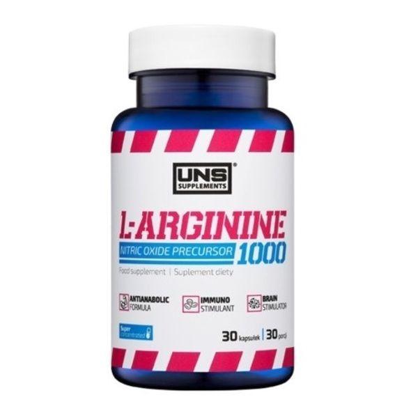 L-Arginine 1000 30caps, UNS