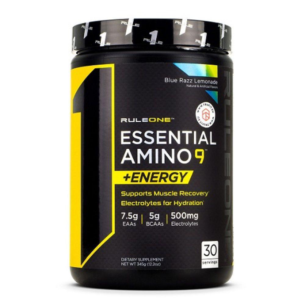 R1 Essential Amino 9 + Energy 30 Servings 345g, Rule One