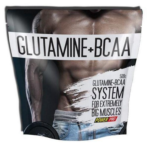 Glutamine + BCAA 500g, PowerPro