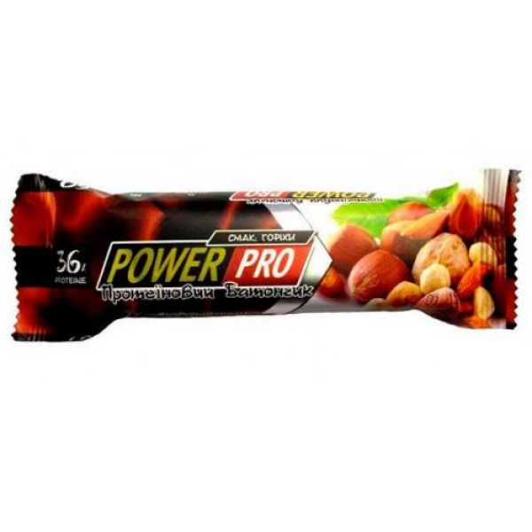 Батончик ореховый NUTELLA 36% 60g, PowerPro