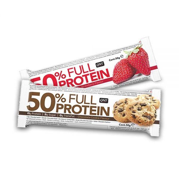 50% Full Protein Bar 50g, QNT