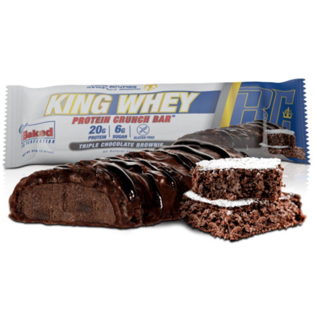 Батончик King Whey Protein Crunch Bar 57g, Ronnie Coleman