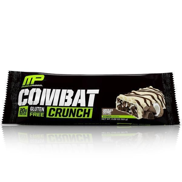 Combat Crunch Bar 63g, MusclePharm