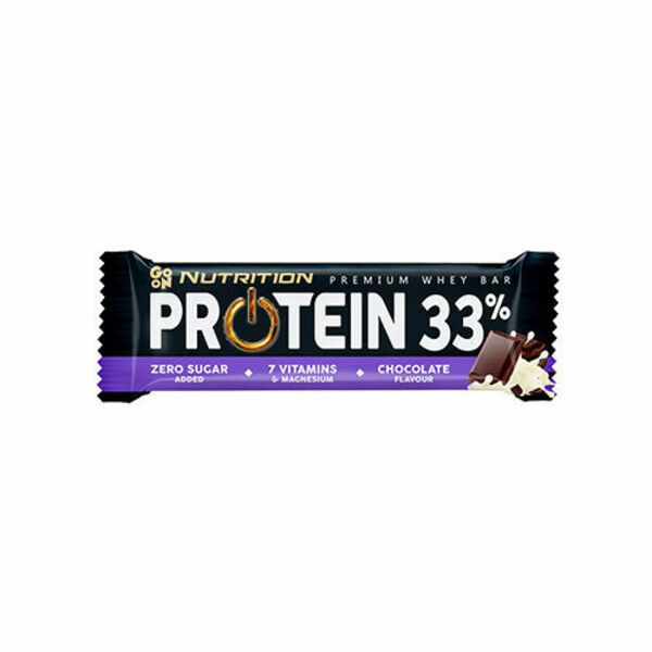 Premium Whey Bar Protein 33% 50g, Go On