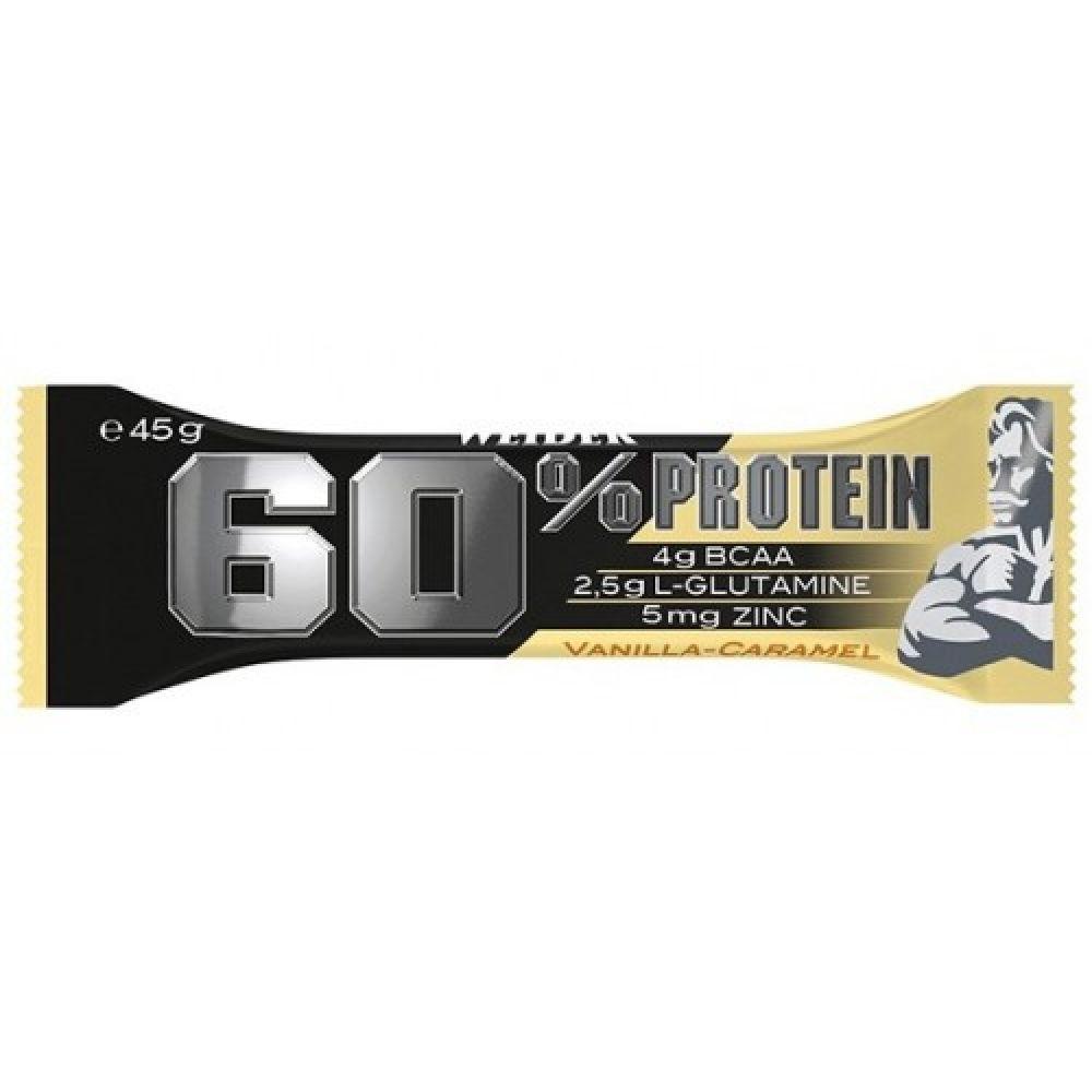 60% Protein Bar 45g, Weider