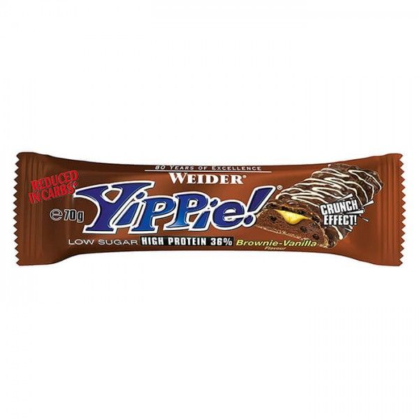 Yippie bar 45g, Weider