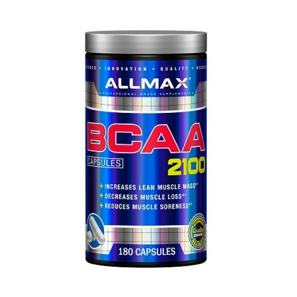 BCAA 2100 180 Caps, ALLMAX Nutrition