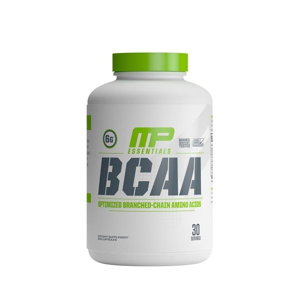 BCAA 240 caps, MusclePharm