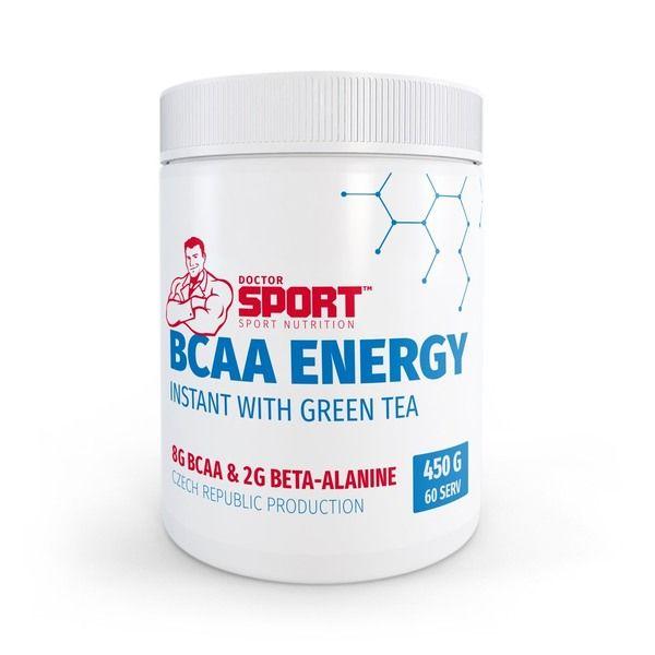 BCAA Energy With Green Tea 450g, Doctor Sport