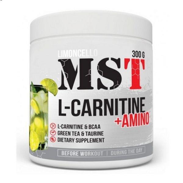 L-Carnitine + Amino 300g, MST