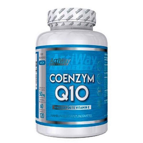 Coenzym Q-10 120caps, ActiWay