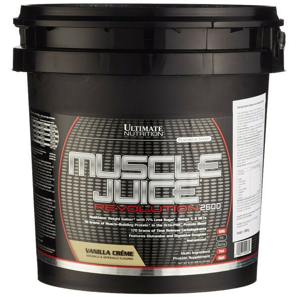 Muscle Juice 2600 Revolution 5,04kg, Ultimate Nutrition