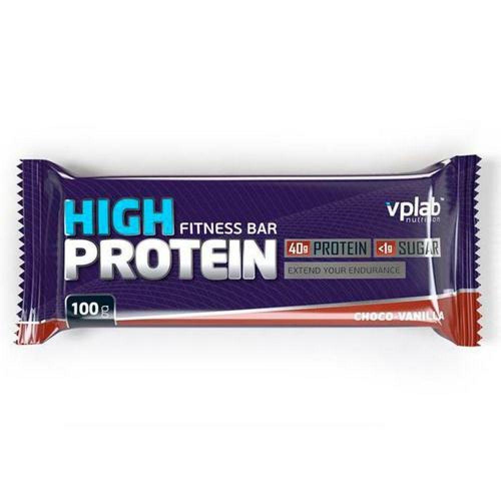 Hi Protein Bar 100g, VP Labs