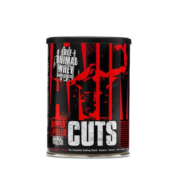 ANIMAL CUTS 42 pak, Universal Nutrition
