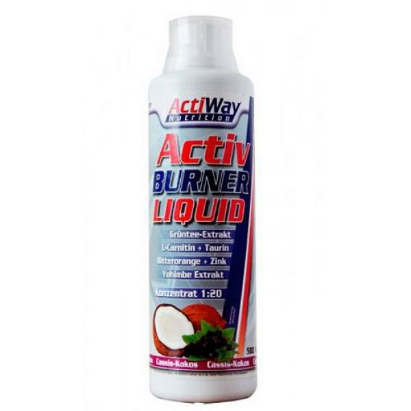 Activ Burner Liquid 500ml, Actiway
