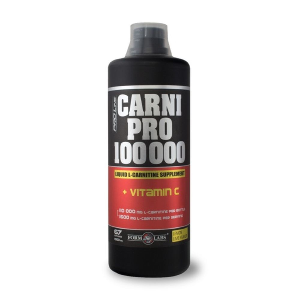CarniPro 100.000 + Vitamin C 1000ml, Form Labs
