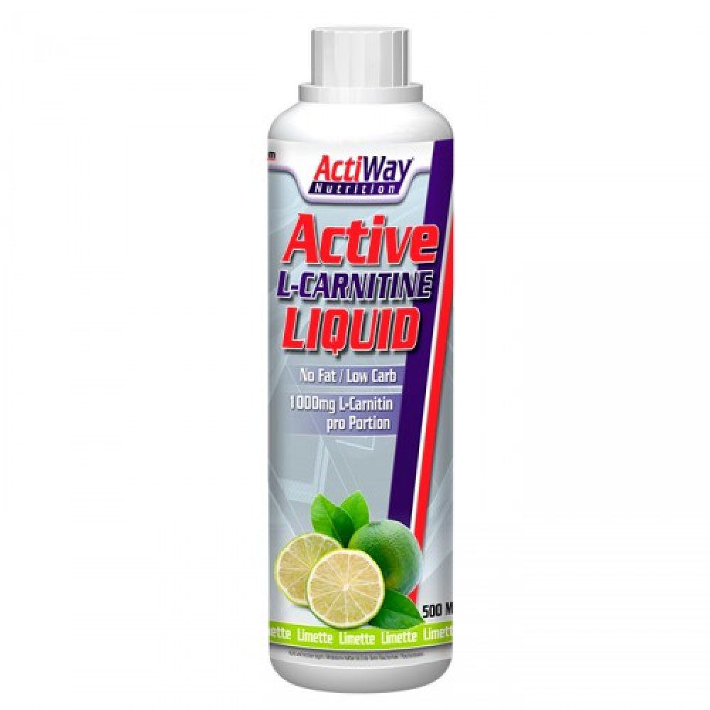 L-Carnitine Liquid 500ml, ActiWay