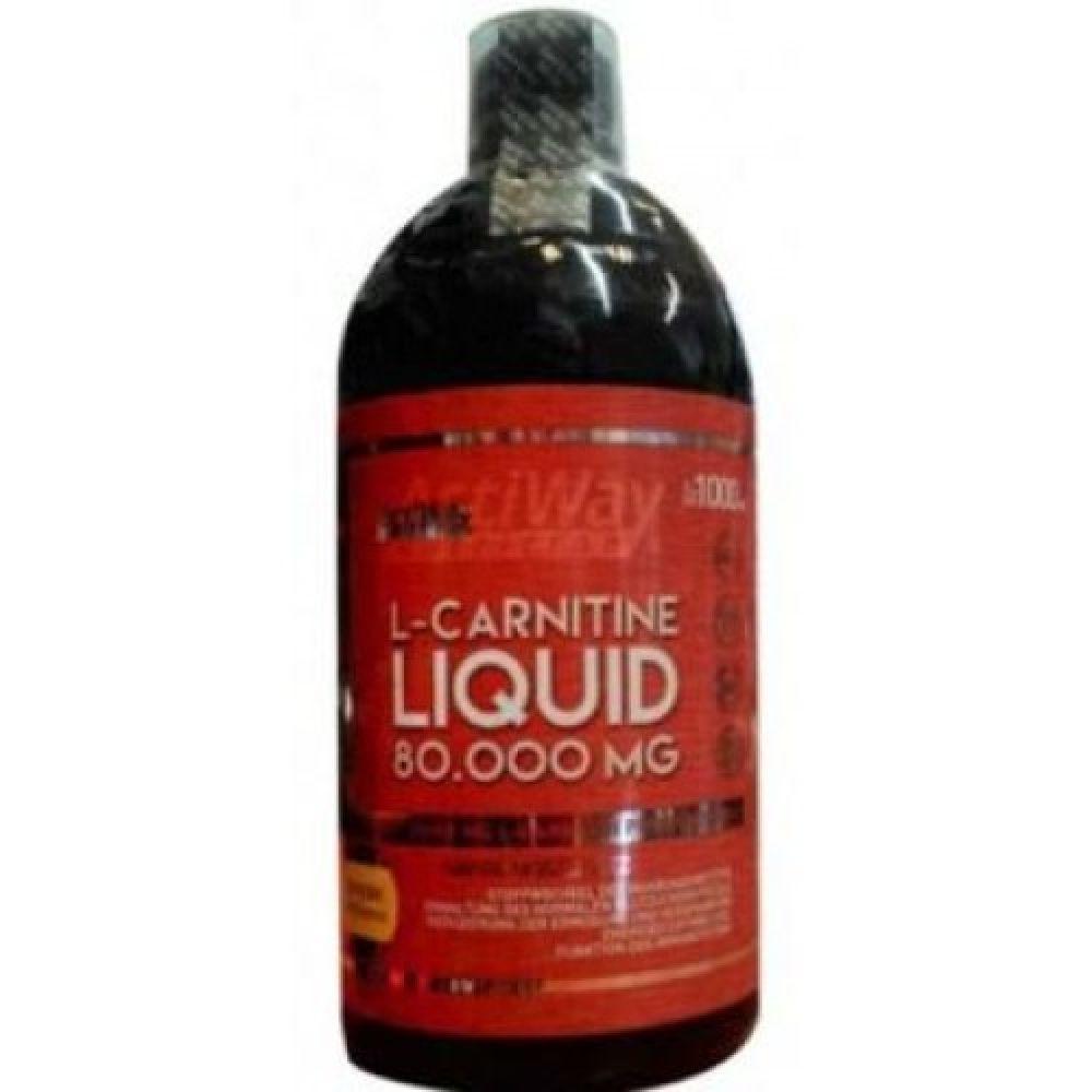 L-Carnitine Liquid 80.000mg, ActiWay