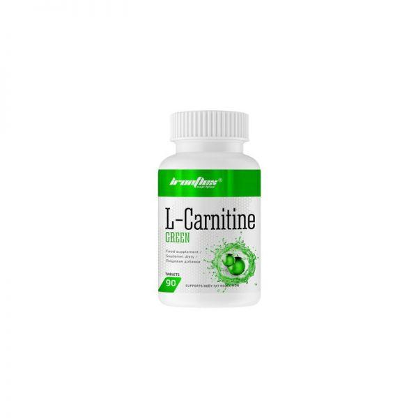 L-Carnitine + Green Tea 90tab, IronFlex
