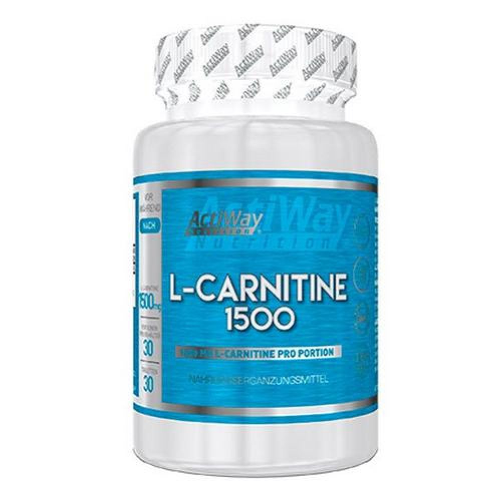 L-Carnitine 1500 30tab, ActiWay
