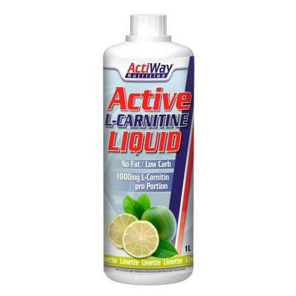 L-Carnitine Liquid 1000ml, ActiWay