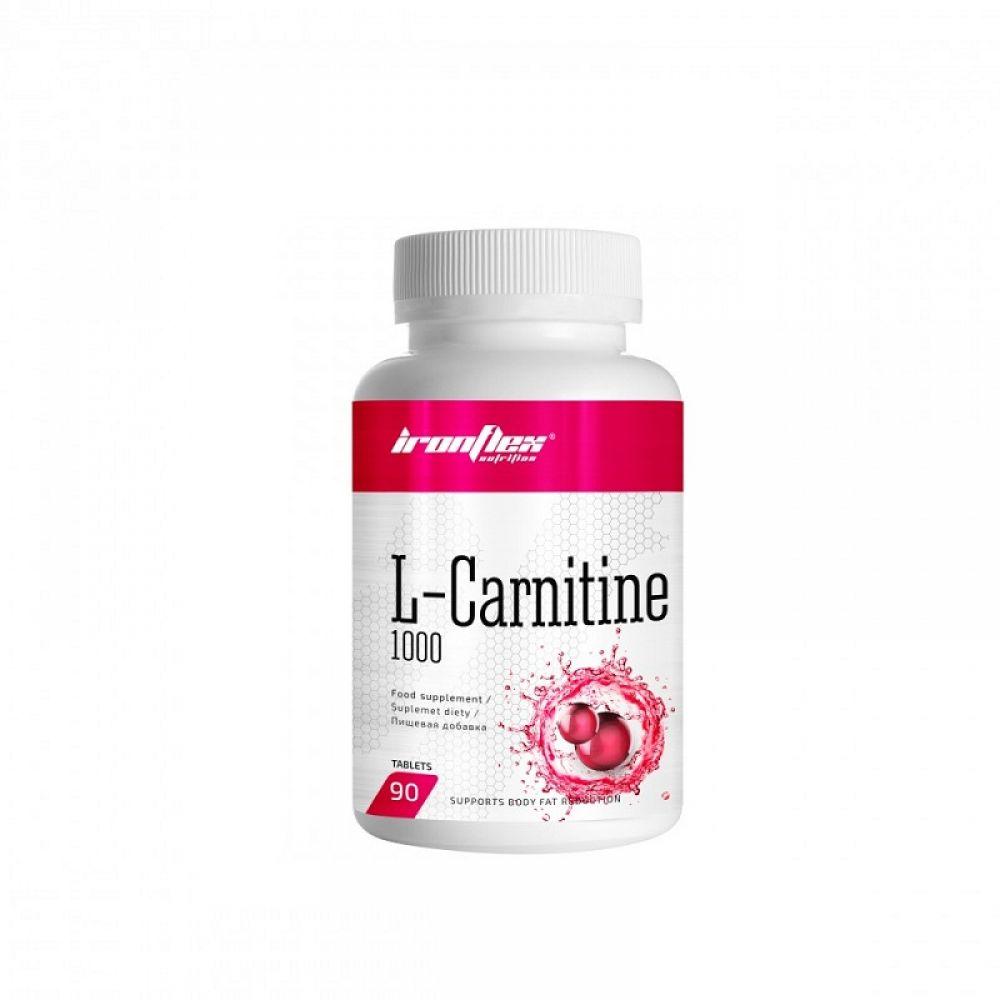 L-Carnitine 1000 90tab, IronFlex