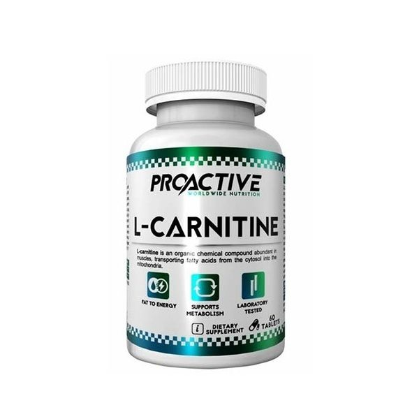 L-Carnitine 60tab, ProActive