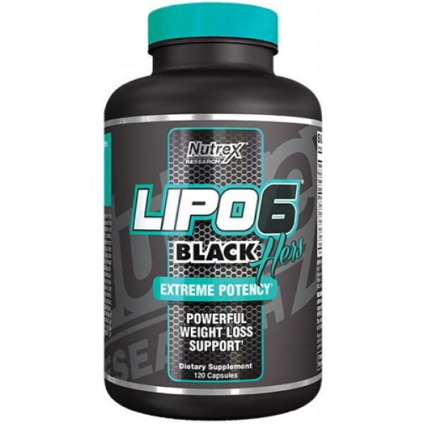 Lipo-6 Black Hers Liqui-caps 120, Nutrex