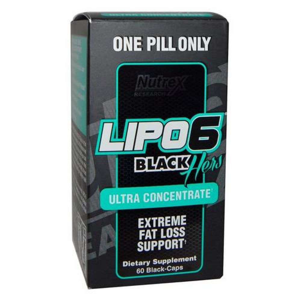 Lipo-6 Black HERS Ultra Concentrate 60caps, Nutrex