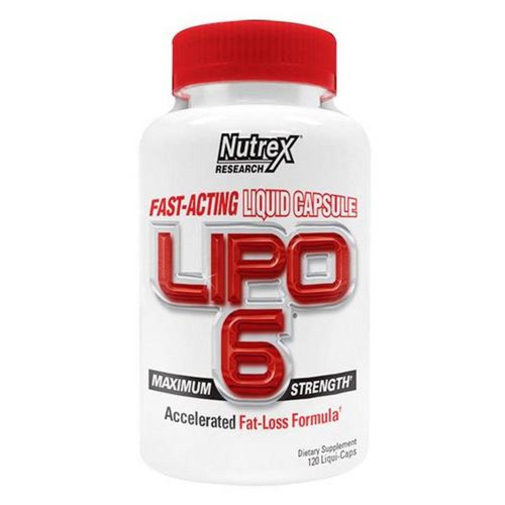 Lipo-6 Maximum Strenght 120caps, Nutrex