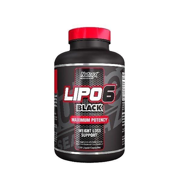 Lipo-6 Black 120 caps, Nutrex