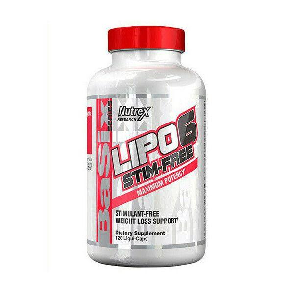 Lipo-6 Stim-Free 120 liqui-caps, Nutrex