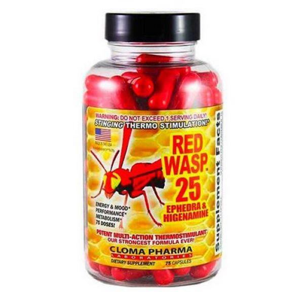 Red Wasp 75caps, Cloma Pharma