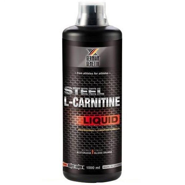 Steel L-Carnitine Liquid 1000ml, German Genetix