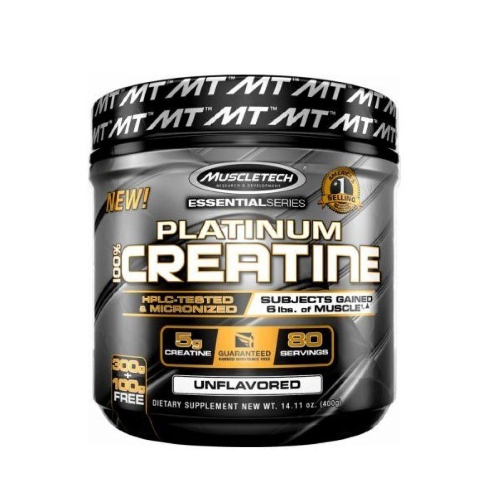100% Platinum Creatine 400g, MuscleTech