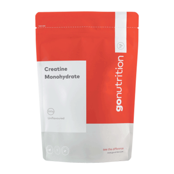 Creatine Monohydrate 500g, GO Nutrition