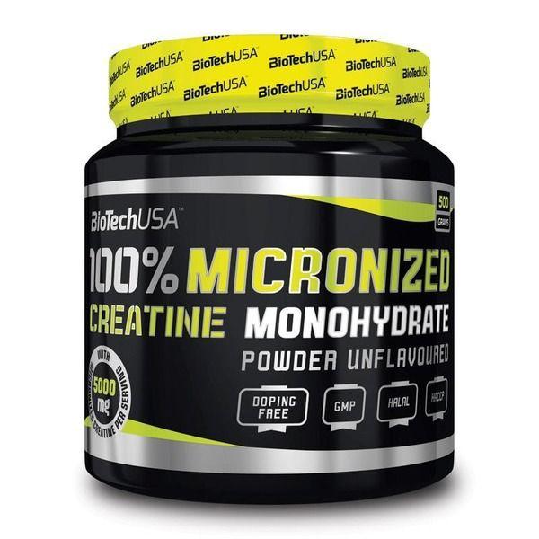 100% Creatine Monohydrate 500g, BioTech