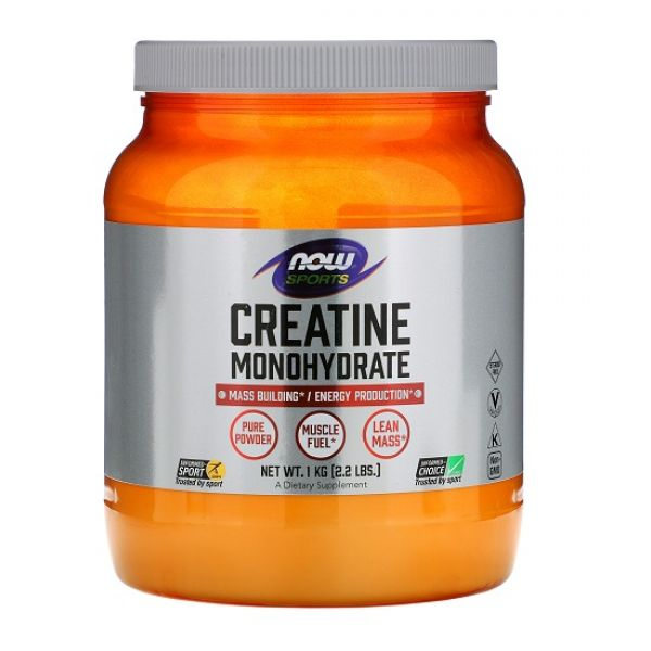 Creatine Monohydrate 1000g, NOW Foods