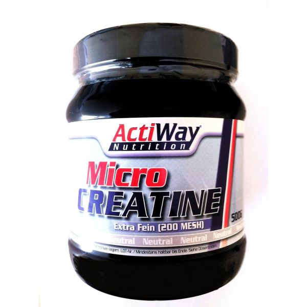 Micro Creatine 500g, ActiWay