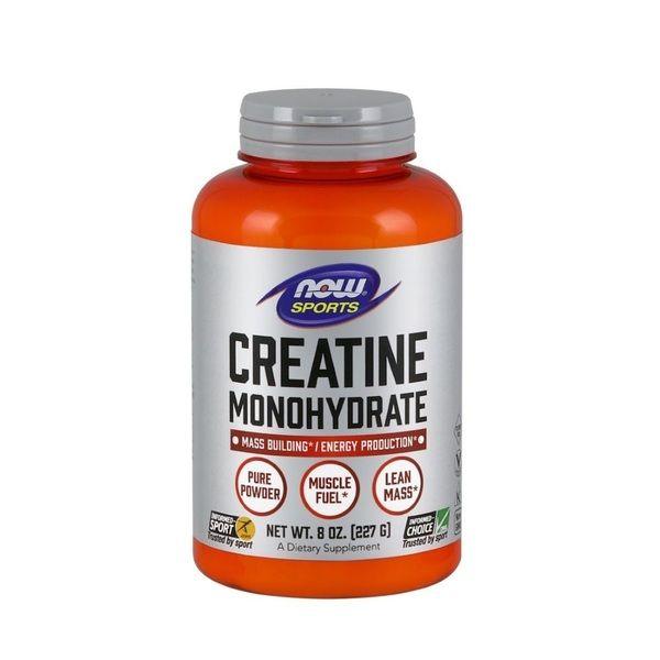 Creatine Monohydrate 227g, NOW Foods