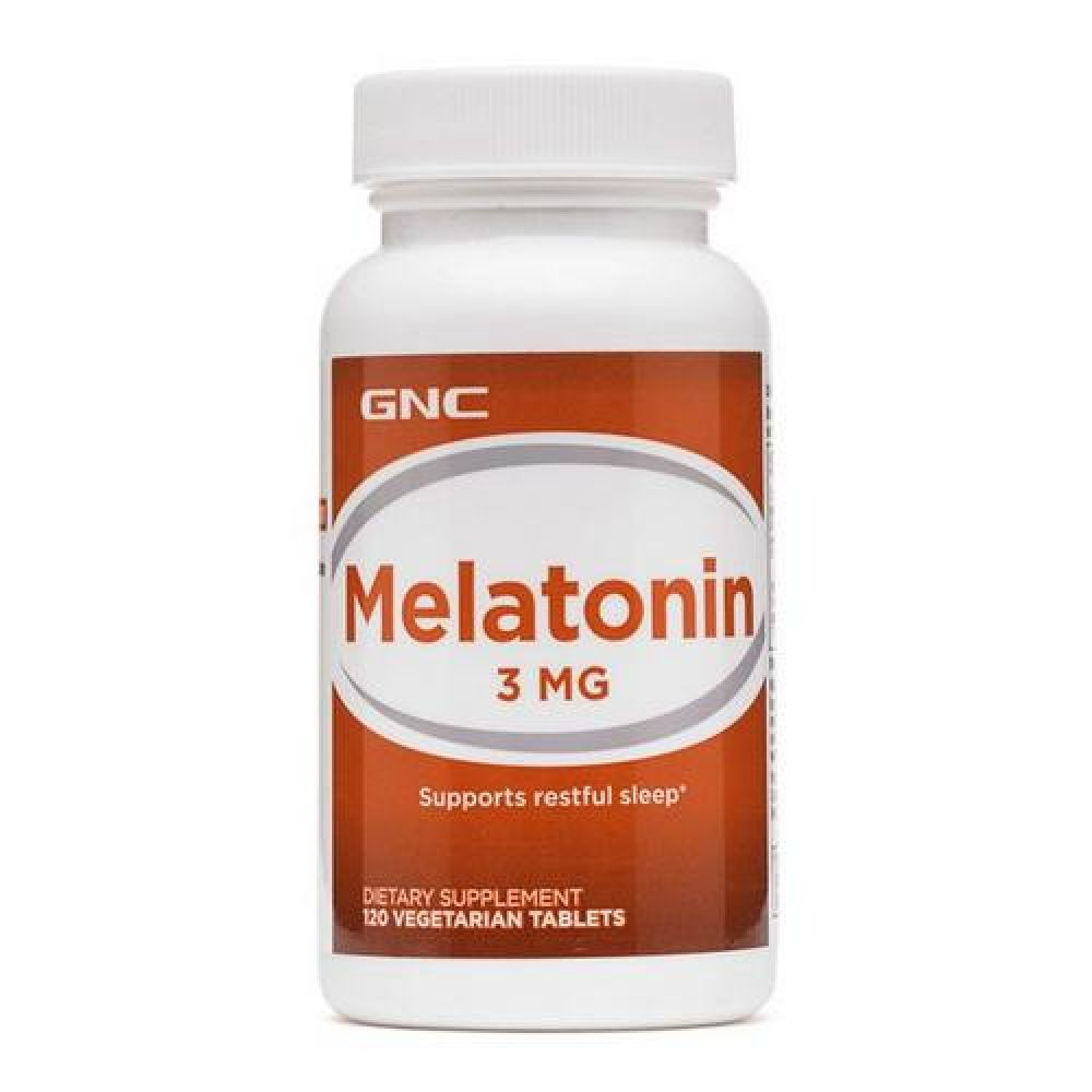 Melatonin-3 120caps, GNC