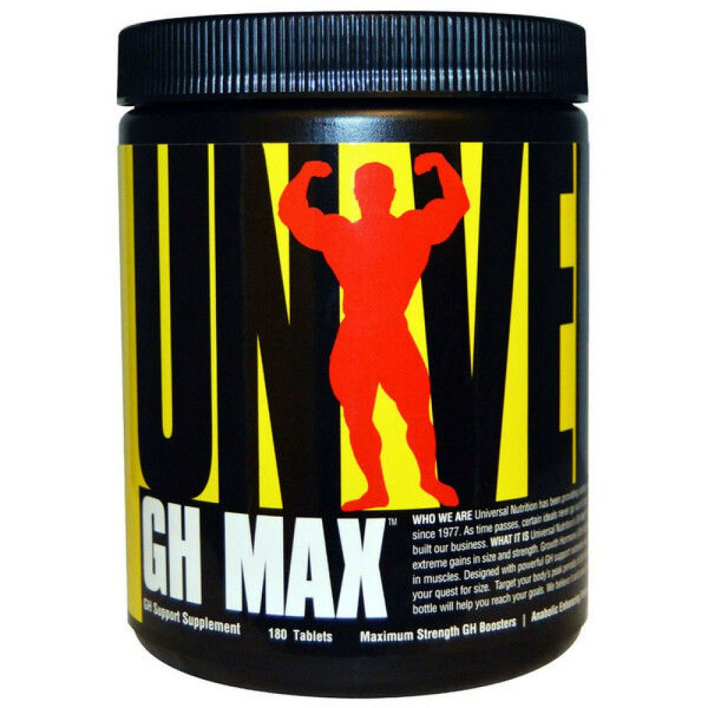 GH MAX 180tab, Universal Nutrition