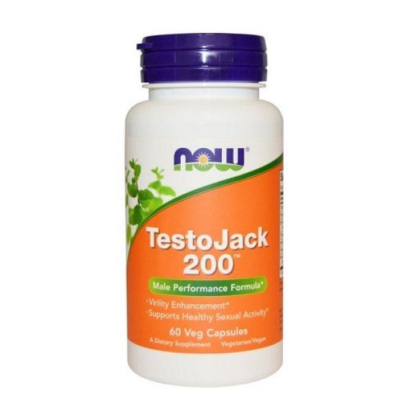 TestoJack 200 60 Caps, NOW Foods